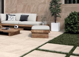 Dalle terrasse grise 60X60 cm – EP: 20mm