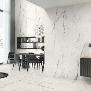 Carrelage intérieur effet marbre - 80 X 80