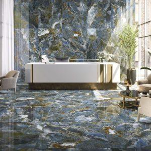 Carrelage intérieur aspect marbre - 60 X 120