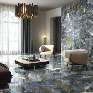 Carrelage intérieur aspect marbre - 120 X 120